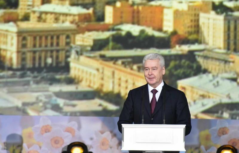 Мэр Москвы Сергей Собянин поздравил коммунальщиков с праздником