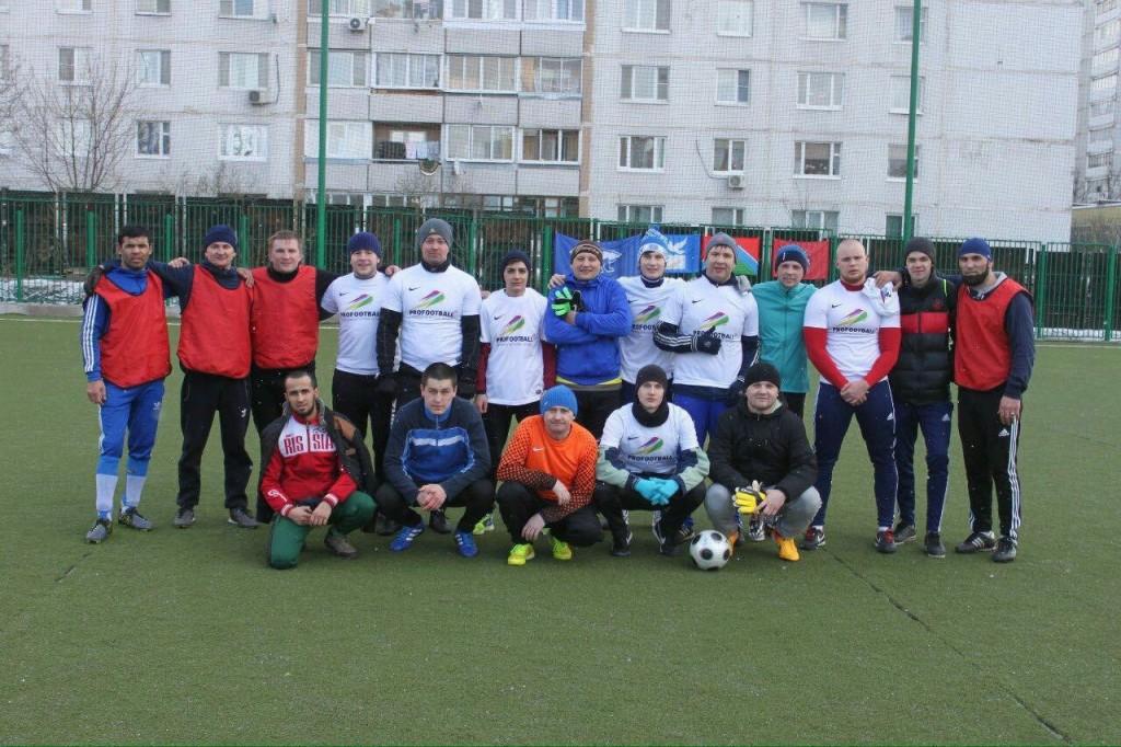 Молодежные палаты двух поселений встретились на футбольном поле