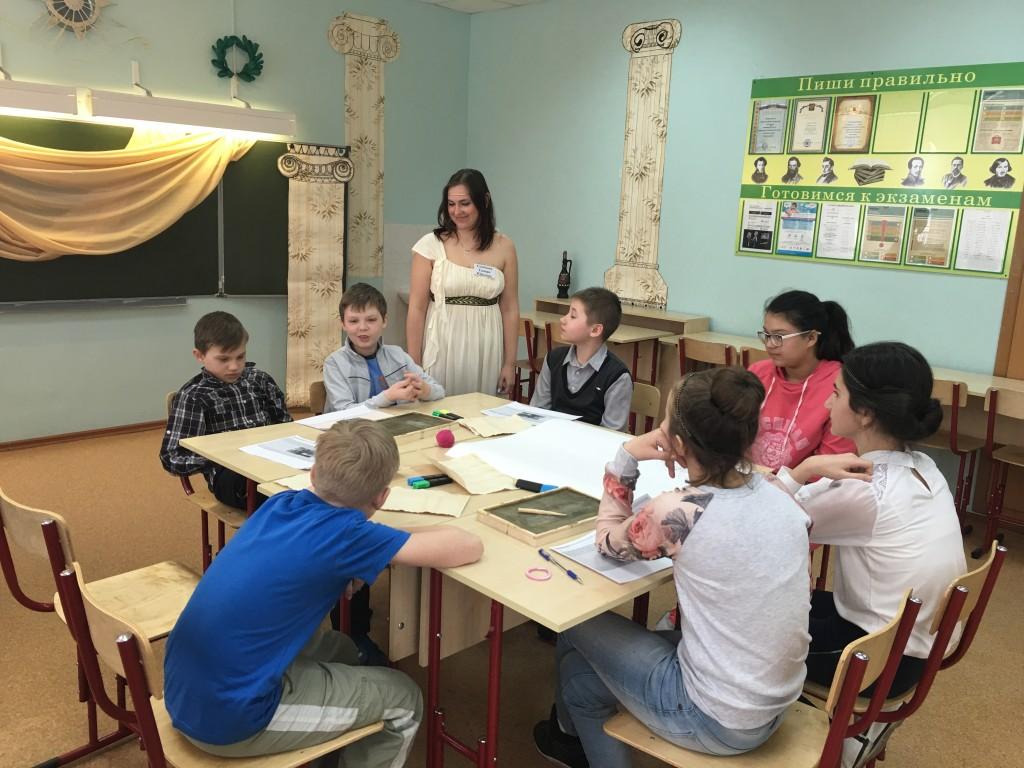 Древние цивилизации и Google: в школе 2075 прошел этап образовательного фестиваля