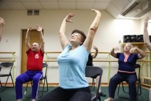 пенсионеры фитнес