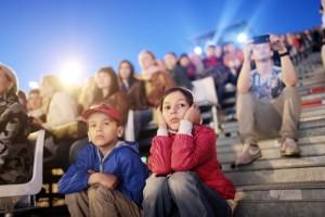 школьки на концерте