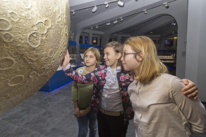 школьники космос