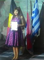 Школьница стала призером Международного конкурса артистического танца