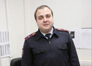 Начальник Отделения участковых уполномоченных полиции ОМВД по г. о. Троицк Иван Мотылев