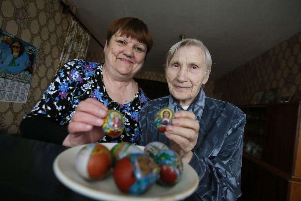 Пасхальные яйца для доярки Анастасии Кардашовой