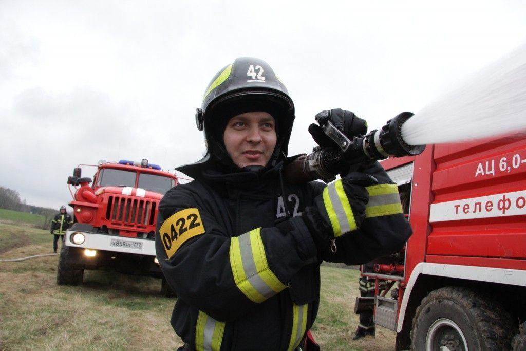 Пожарный легион победил стихию