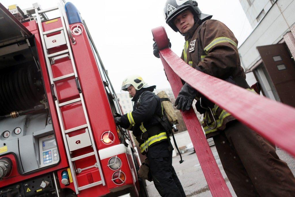 Окружные пожарные учения пройдут в Кленовском 27 апреля