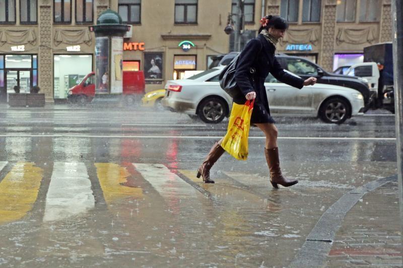 В воскресенье Москву ожидает непогода