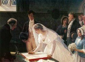 "Эдмунд Блэр ""Регистрация брака"". Фотоархив Wikipedia"