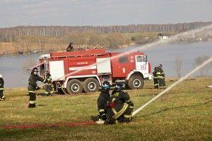 В Москве стартовали учения по ликвидации чрезвычайных ситуаций. Фото предоставлено пресс-службой МЧС по ТиНАО
