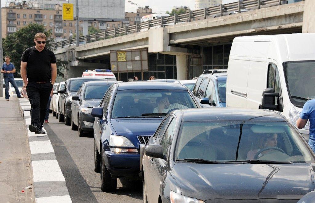 Движение в центре Москвы  будет перекрыто в связи с проведением забега