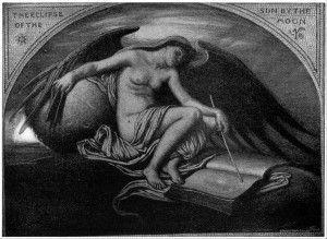 """Илайхью Веддер. """"Солнечное затмение"""". 1922 год. Фотоархив Wikipedia"""