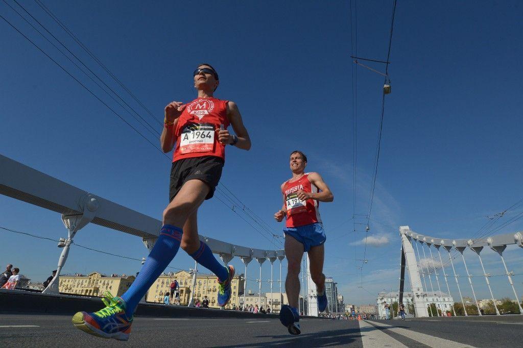 Первый этап Московского марафона прошел в «Лужниках»