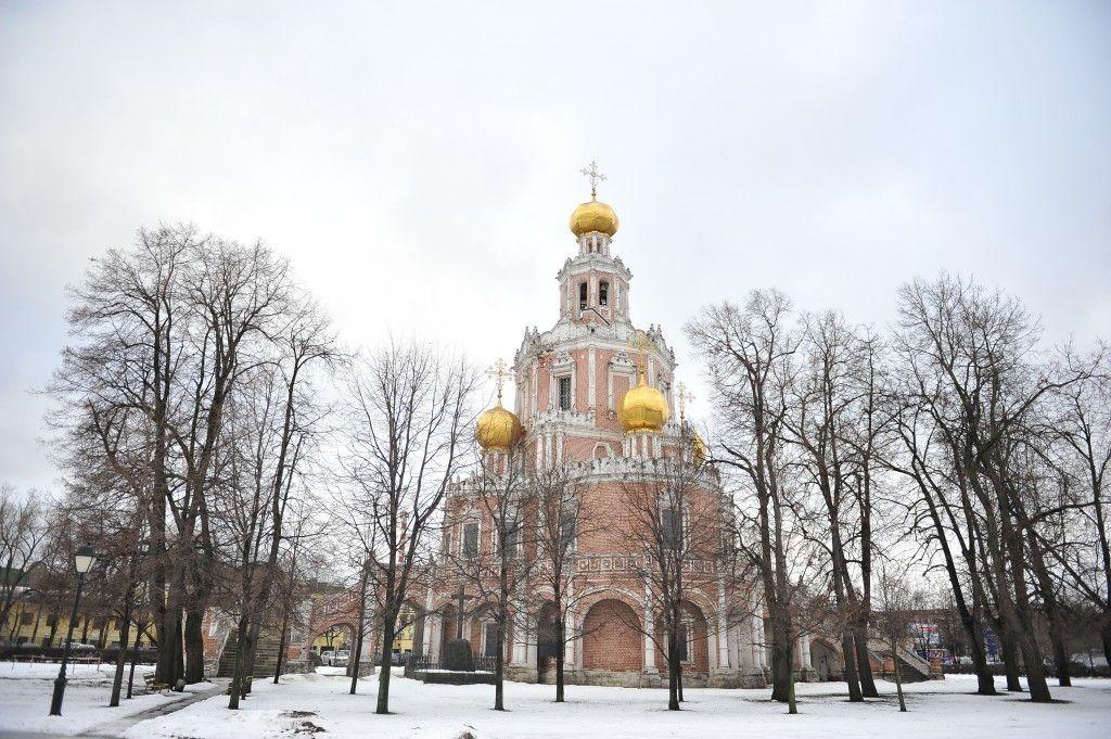 Церьковь Михаила Архангела в селе Былове