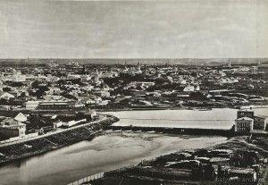 Москва-Река, 1867 год. Фотоархив Wikipedia