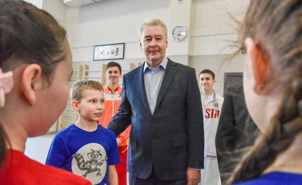 Мэр Москвы открыл крупнейший в России центр восточных единоборств