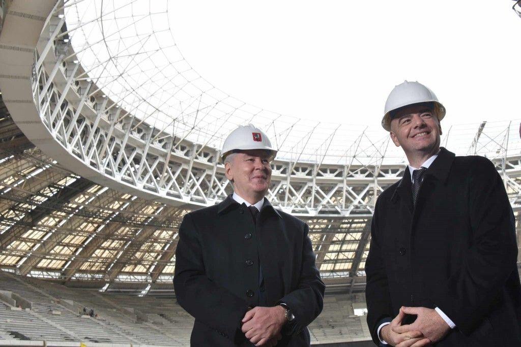 Собянин: Подготовка к проведению футбольного первенства планеты в Москве идет с опережением графика