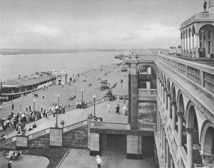 Московский речной вокзал в Химках. Начало XX века. Фотоархив Wikipedia