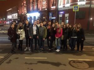 """Троицкие ученики посмотрели спектакль """"Женитьба"""". Фото: сайт школы №6."""