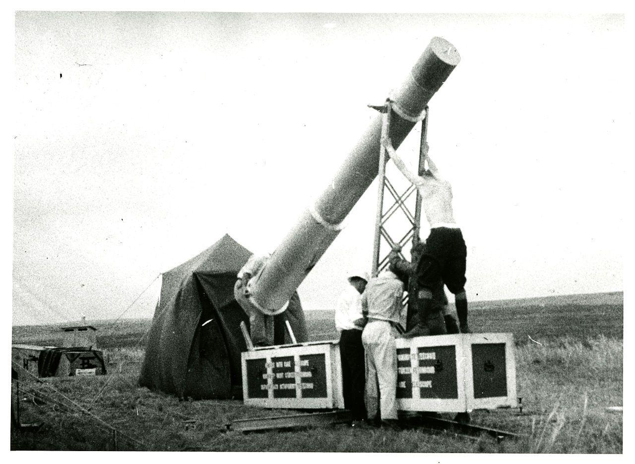 Столетние новости: Экспедиция по наблюдению солнечного затмения