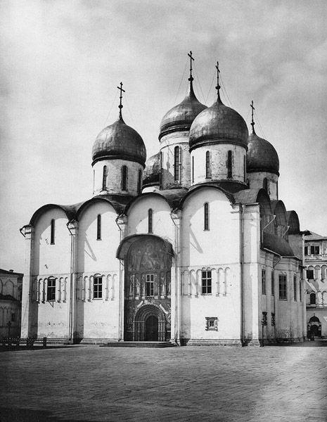Успенский собор, 1883 год. Фотоархив Wikipedia