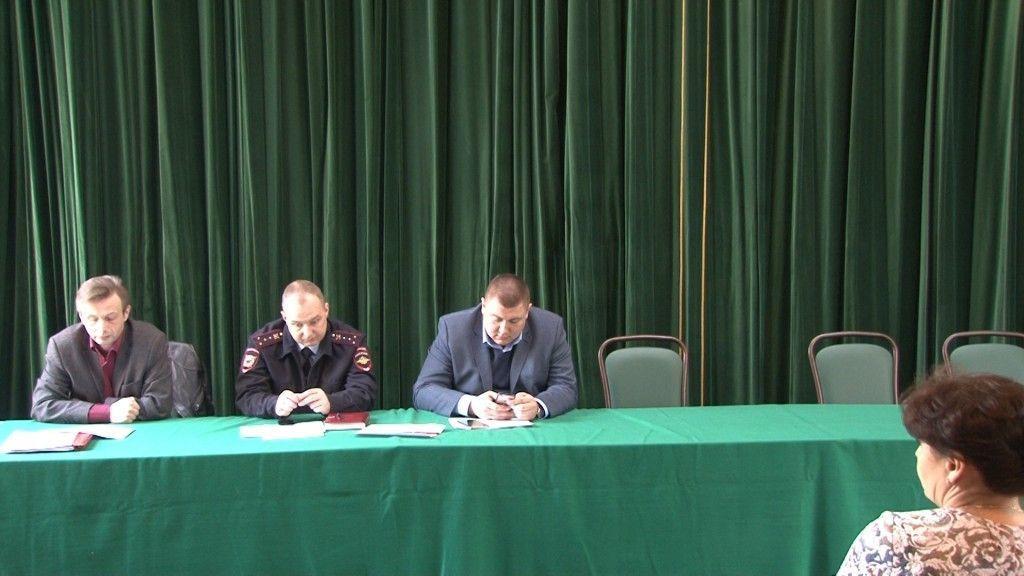В Щербинке прошло заседание комиссии по антитеррористической деятельности