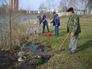 Акция «Чистый берег» началась в Новой Москве