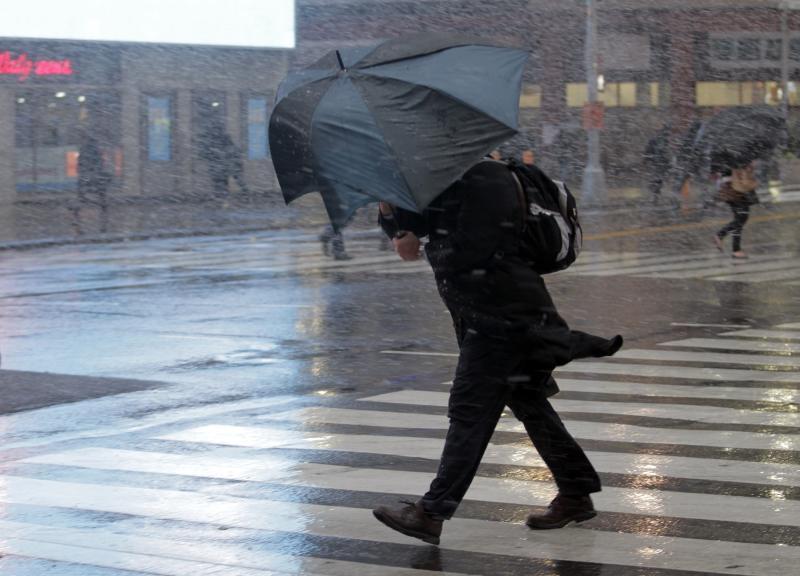 Сотрудники МЧС предупреждают о дожде с сильными порывами ветра