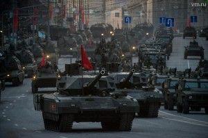 С помощью сервиса «Окно в город» москвичи увидят репетицию парада Победы