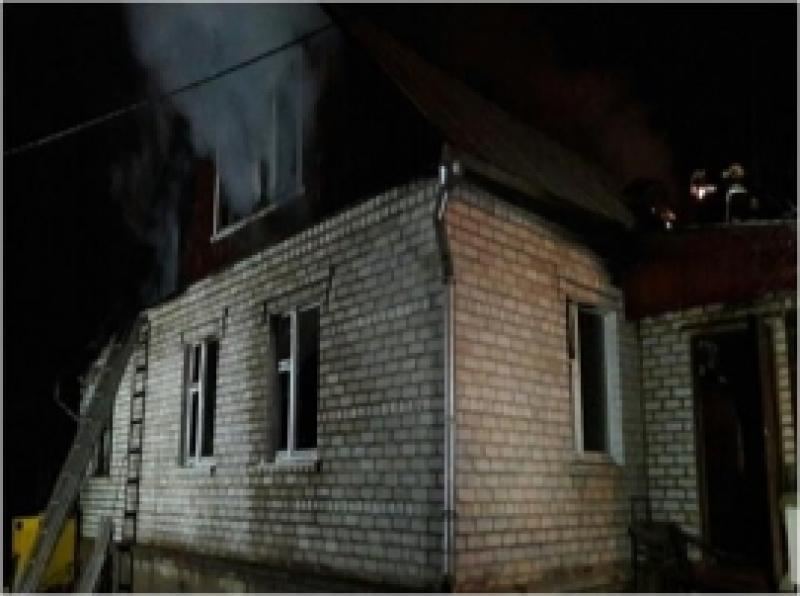Пожар в Новой Москве: пострадали два человека