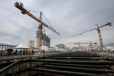 В Московском появился крупнейший за квартал многофункциональный комплекс