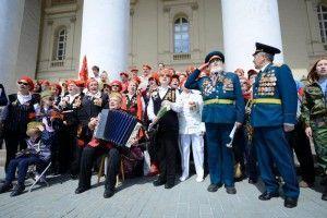 Власти Москвы обещают обеспечить бесплатный проезд ветеранам с 1 по 15 мая