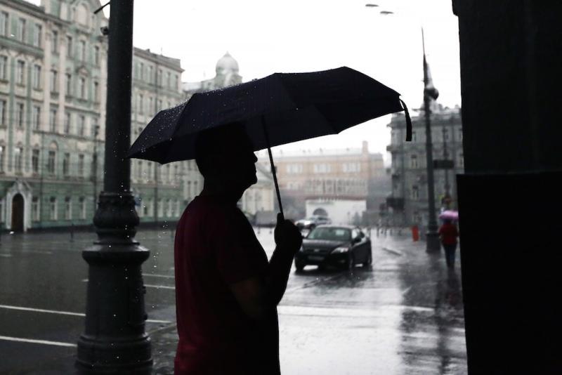 Москвичей ждут небольшие дожди в среду