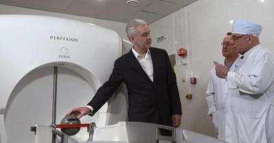 Собянин: В НИИ Склифосовского начали делать уникальные операции с помощью Гамма-ножа