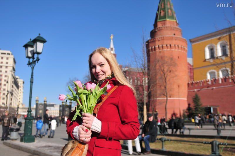 На следующей неделе в Москве ожидается почти летняя погода