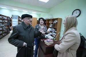 Библиотечные книги освободили из плена