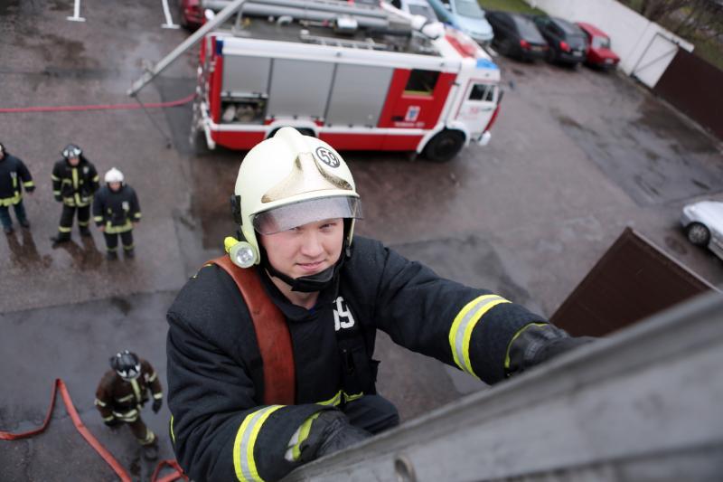К пожарному депо в Киевском построят подъездную дорогу