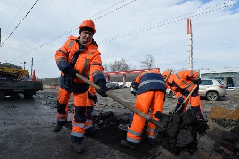 """Дорогу отремонтируют. Фото: """"Вечерняя Москва"""""""