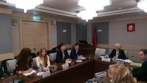 Молодые парламентарии обсудили субботники в Мосгордуме