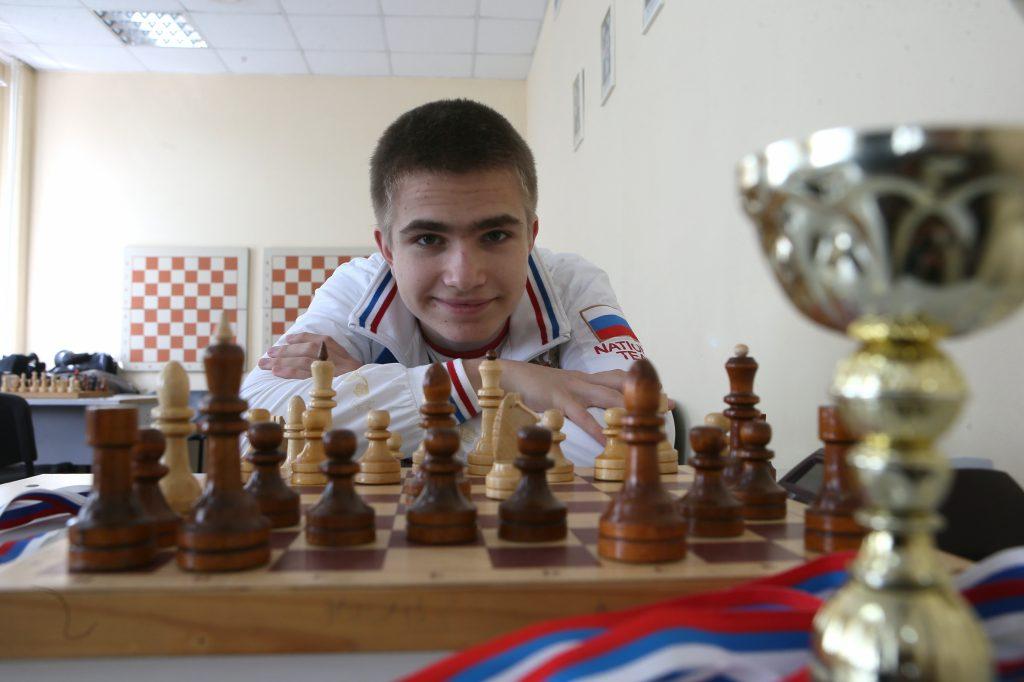 Алексей Сарана, шахматист, 16 лет. Знамя Октября поселения Рязановское