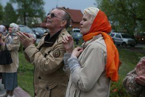 15 мая 2016 года. Филимонковское. Зрители на празднике «Звонильная неделя» в рамках XV Пасхального фестиваля