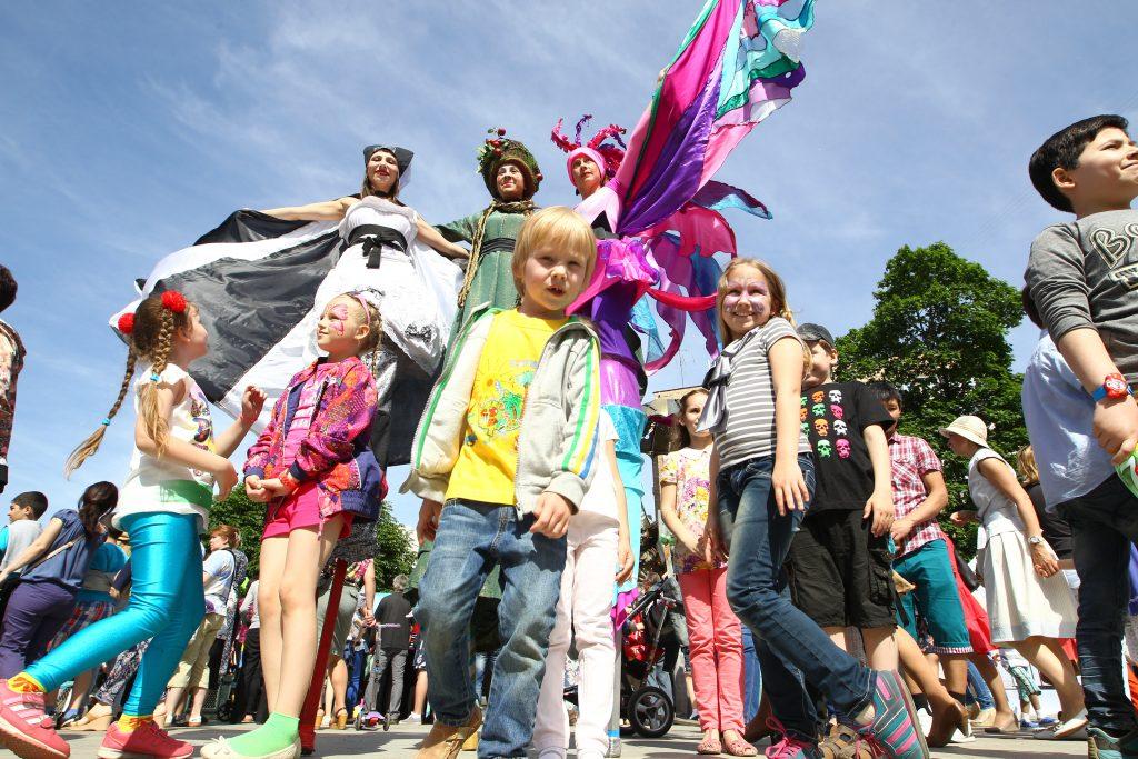 На День защиты детей устроят концерт и развлечения. Фото архивное.