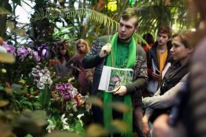 В ботанический сад «Аптекарский огород» можно приходить со своими домашними животными