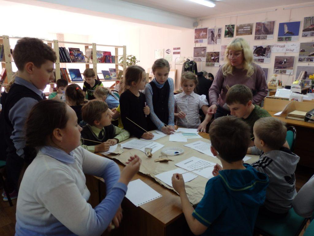 Дети познакомились со славянской письменностью и мировыми музеями