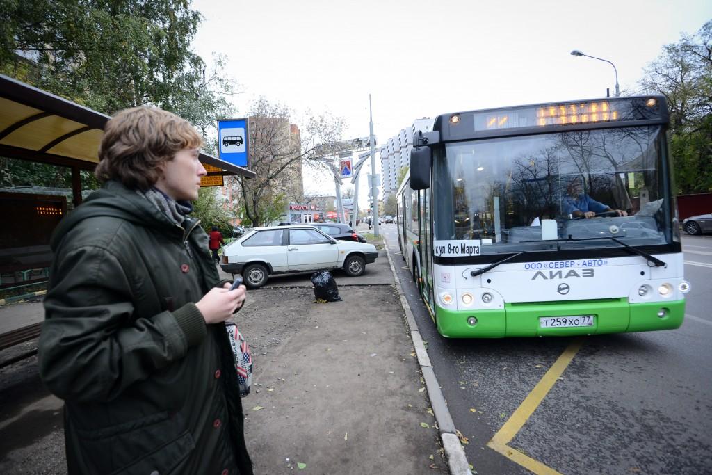 Из-за реконструкции Аминьевского шоссе изменятся маршруты автобусов