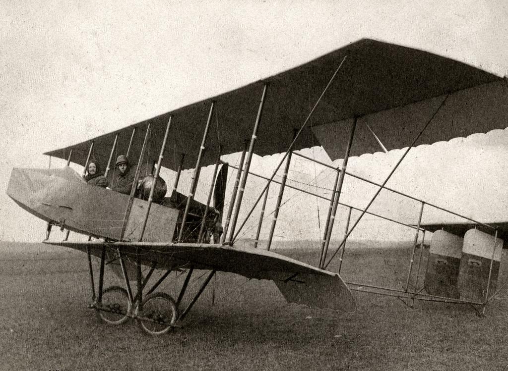 """""""Фарман-MF7"""", 1912 год. Фотоархив Wikipedia"""