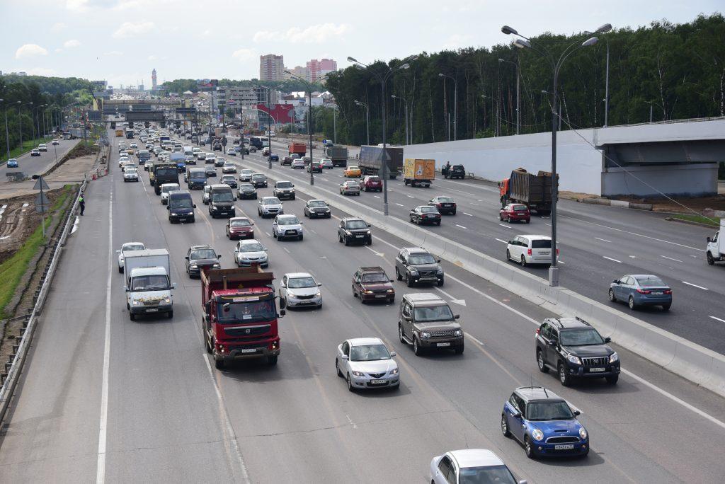 Через три года будет завершено строительство участка Центральной кольцевой автодороги в Новой Москве
