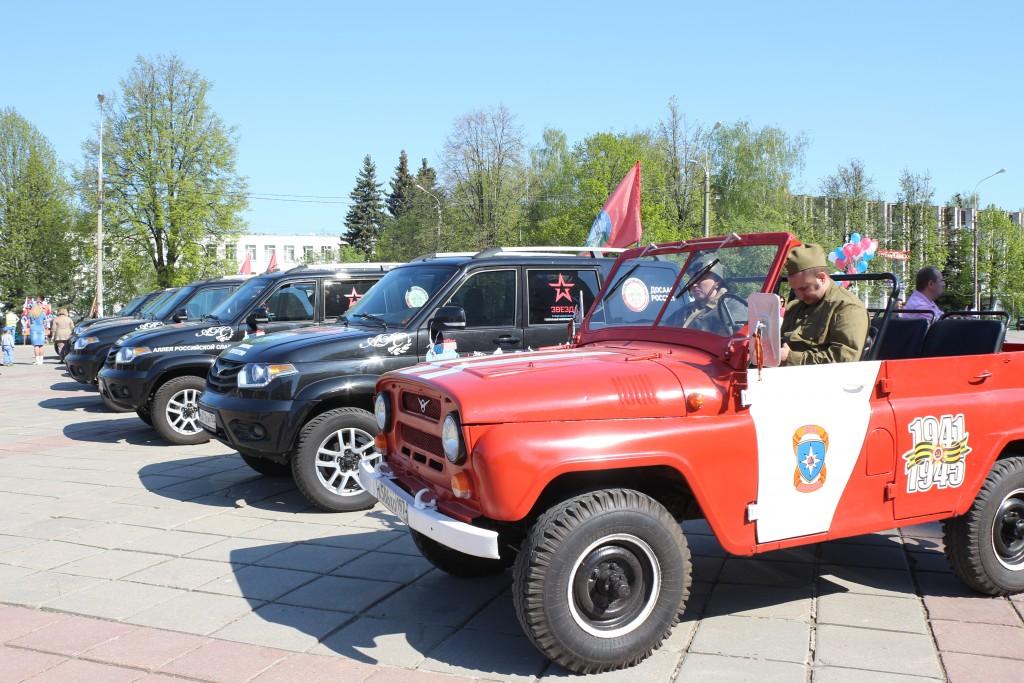 День Победы отметили патриотическим автомотопробегом