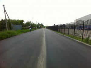 На дороге в поселке Крекшино заменили асфальтобетонное покрытие. Фото архивное