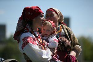 Патриотический форум «Единство поколений». Фото: Виктор Хабаров.